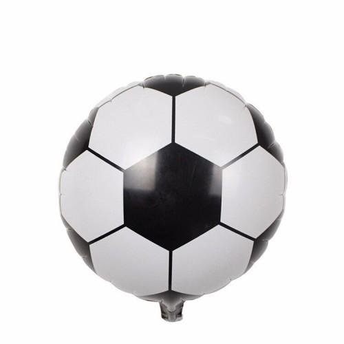 """Шар (18""""/46 см) Футбольный мяч Белый 1 шт."""