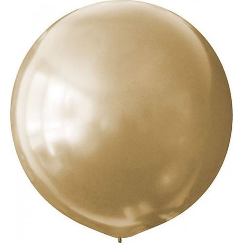 """Шар (24""""/61 см) Металлик Золото 1 шт. (Мексика)"""