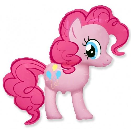 """Шар (34""""/86 см) Фигура Милая пони Искорка Розовый 1 шт. (FM) (Испания)"""