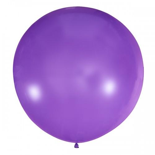 """Шар (24""""/61 см) Пастель Фиолетовый 1 шт. (Мексика)"""