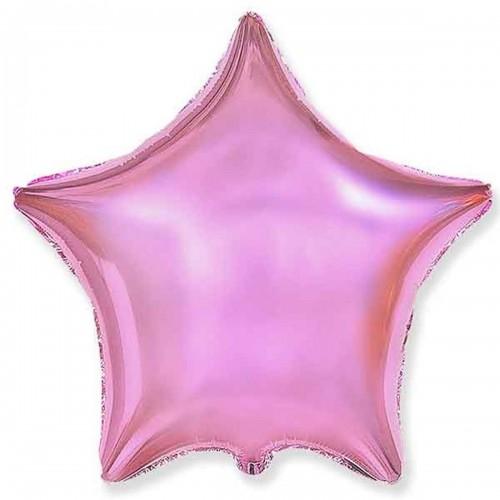 "Шар (18""/46 см) Звезда Розовый 5 шт. (FM) (Испания)"