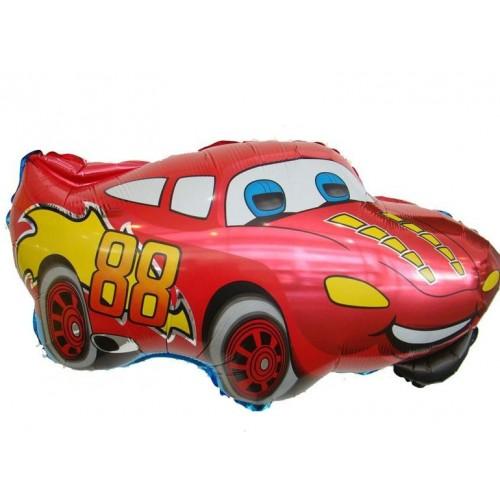 """Шар (38""""/97 см) Фигура Машина Маккуин Красный 1 шт.  (FM) (Испания)"""
