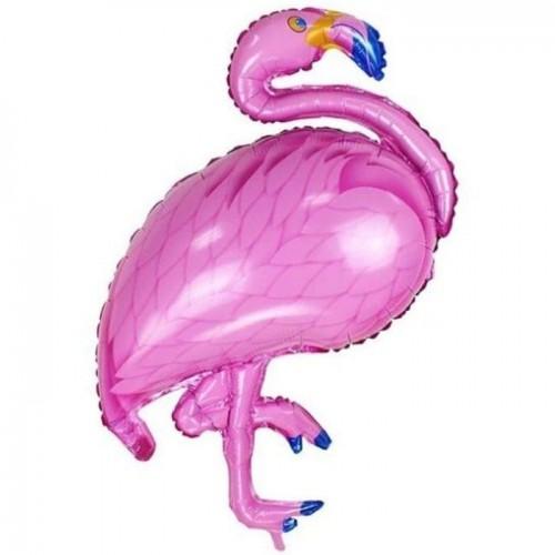 """Шар (40""""/102 см) Фигура Фламинго Розовый 1 шт.  (FM) (Испания)"""