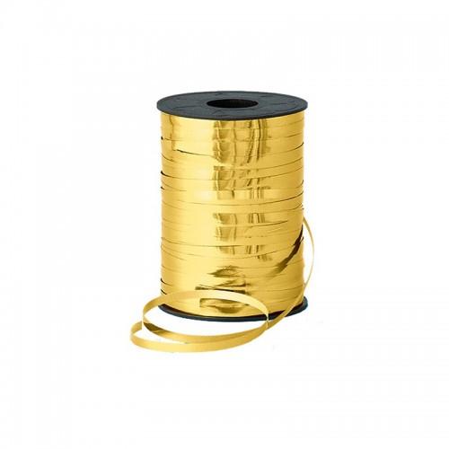 Лента Металлизированная (0,5 см х 250 м) Золото 1 шт.