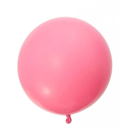 """Шар (24""""/61 см) Пастель Розовый 1 шт. (Мексика)"""